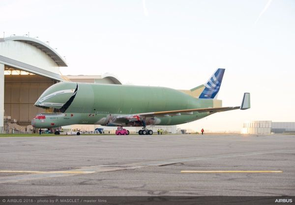 空客大白鲸运输机结构性完工,将进入测试阶段