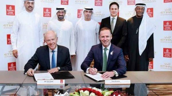 民航早报:阿联酋航空和阿提哈德签署安全协议