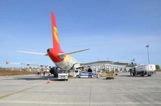 鸡西机场2017年完成旅客吞吐量22.2万人次