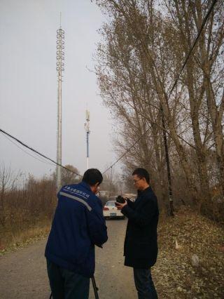 长春机场成功拆除一处违建通讯塔