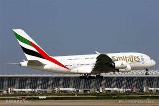阿联酋航空首次与中方租赁公司合作A380项目