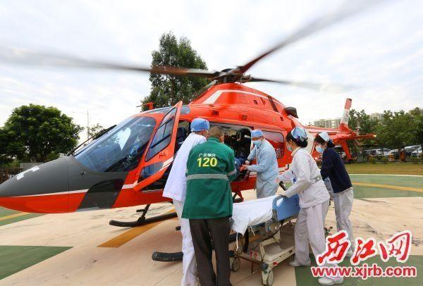 广东肇庆首次成功应用空中应急救援