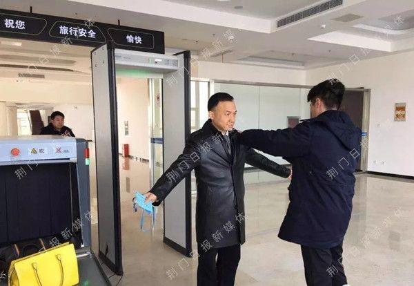 荆门-武汉通勤航线体验记。图/荆门晚报