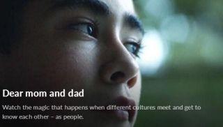 Momondo公益项目:《Dear mom and dad》
