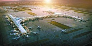 浦东机场内部捷运正在制造中 将与卫星厅共同投用