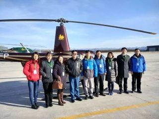 民航局空管局情报中心赴密云机场调研通航业务