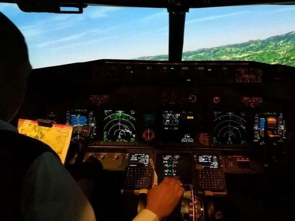 黄山机场完成RNP-AR进近程序模拟机验证