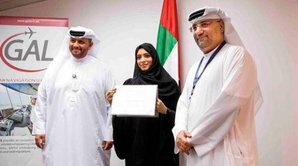 阿联酋迎来首位女性管制员