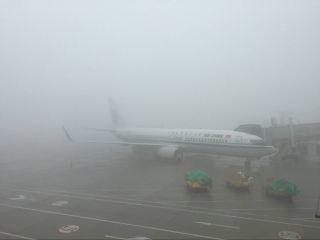受大雾天气影响 合肥机场通行能力下降50%左右