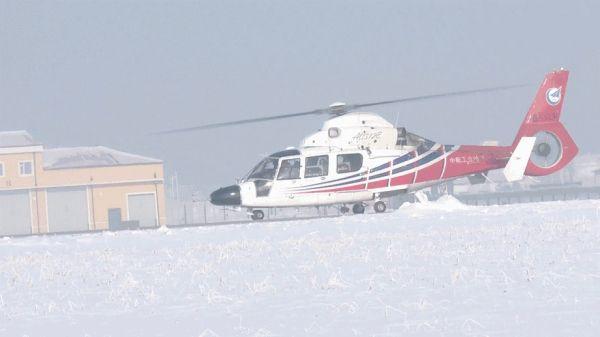 AC312E直升机进行平原寒冷天气性能试验