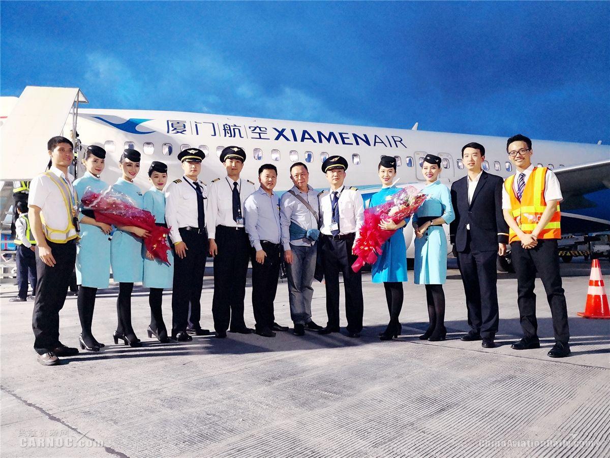 厦航完成非AR程序射频航段飞行为中国民航首家