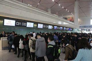 哈尔滨机场举行T2航站楼转场首次综合演练