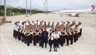 三亚机场地服公司荣获最佳服务团队称号