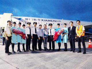 厦航完成非AR程序RF航段飞行 为中国民航首家