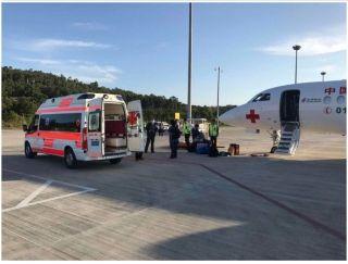 三亚机场完成重症病人急救飞行保障
