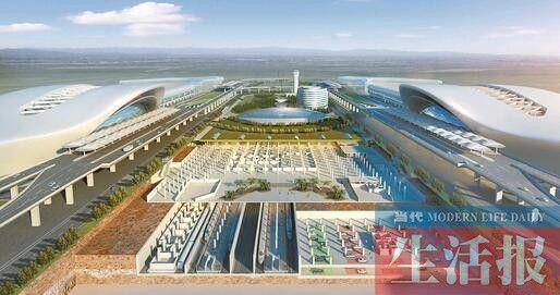 南宁2021年地铁高铁入机场 空地联运无缝衔接