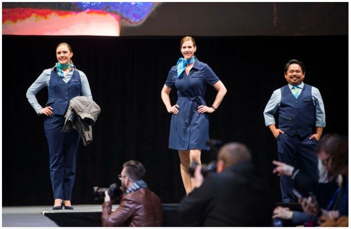 阿拉斯加航空发布新员工制服,你觉得如何?