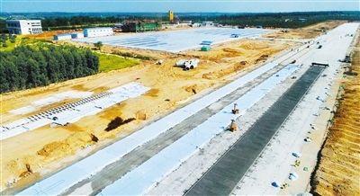 海南东方通用机场主体建设完成70% 3月末竣工