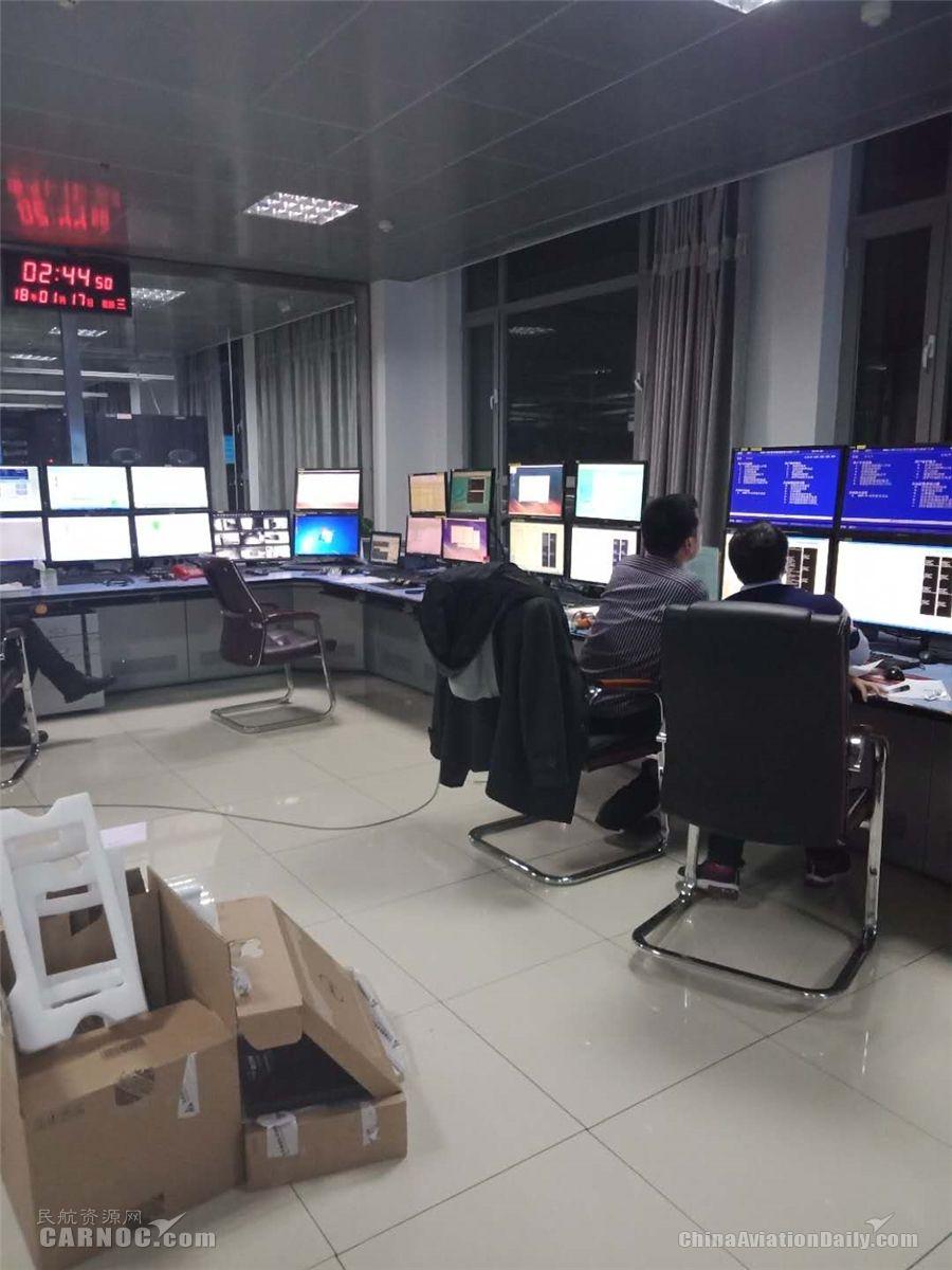 青海空管分局大型转报系统正式投入运行