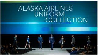 经过将近两年的设计工作之后,1月18日晚,阿拉斯加航空在西雅图的一场时装秀上发布了其新的员工制服。阿拉斯加航空的新员工制服由独立设计师 Luly Yang设计。