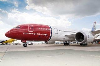 从纽约到伦敦 挪威航空只用了5小时13分钟