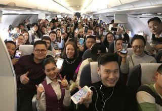 川航:登机不关机 航线全覆盖