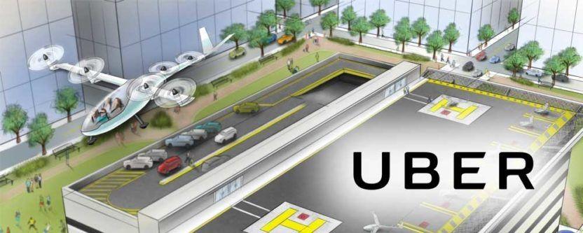 Uber CEO:飞行汽车将在十年内问世