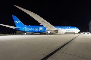 厦航首架彩绘飞机 而且还大有来头哦!