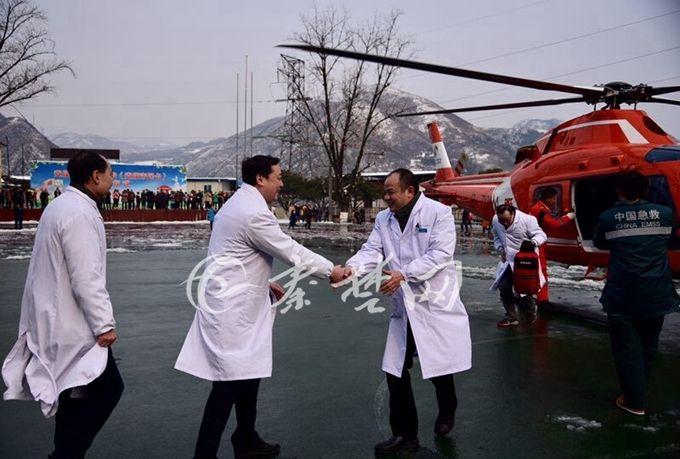 从湖北到陕西!十堰空中120送专家急诊手术