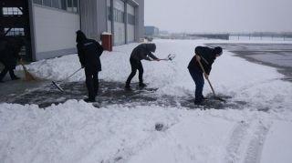 镇江大路通用机场圆满保障暴雪后极寒天气飞行