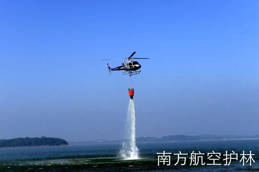 双机联动协作 咸宁航站开展2018年春航护林工作
