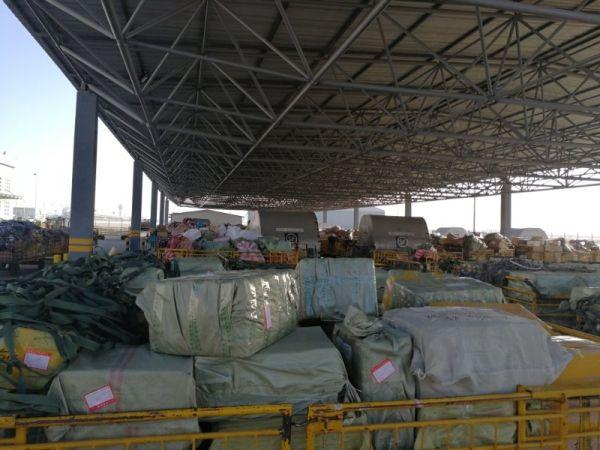 内蒙古机场集团地服分公司货邮吞吐量再创历史新高