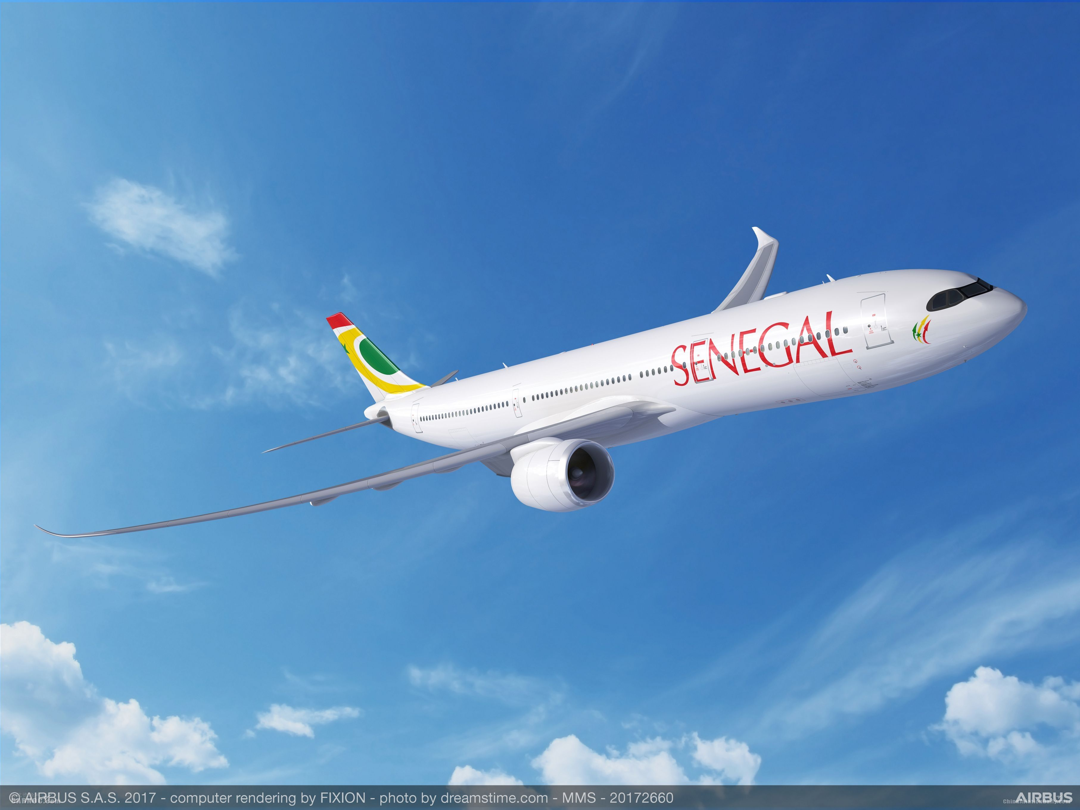 塞内加尔航空确认订购两架空客A330neo飞机