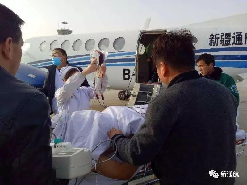 空地联动!新通航联合医院、机场转运重伤病人