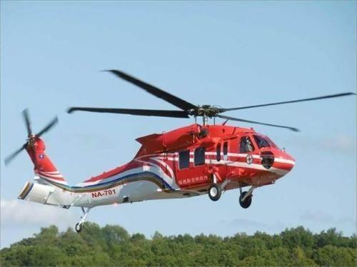 台救援直升机疑坠海6人失联 当晚最大阵风12级