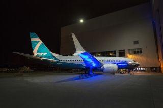 波音MAX家族航程最远飞机737 MAX 7首次亮相