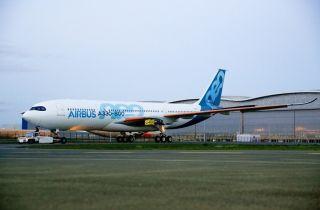 首架A330-800飞机完成喷漆 拟2018年中首飞
