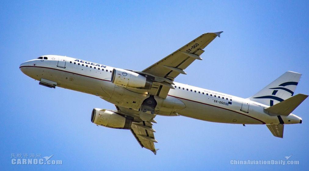 爱琴海航空计划订购至少50架单通道新飞机