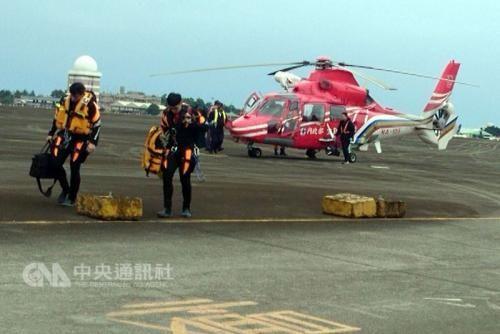台救援直升机失踪超30小时 或进行海底探测