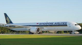 新加坡航空首架波音787-10将执飞大阪航线