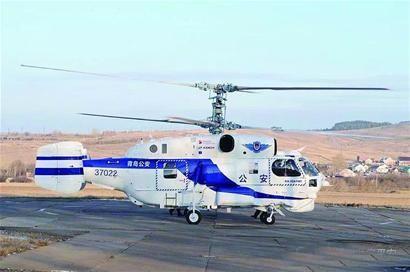 青岛市公安消防支队完成两架卡-32直升机交付