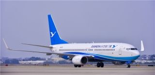 厦航今年第4架飞机加盟 机队规模增至190架