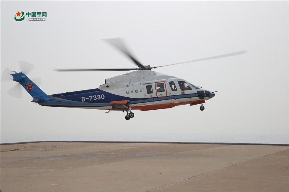 民用直升机为啥突访海上孤岛?背后原因太暖心