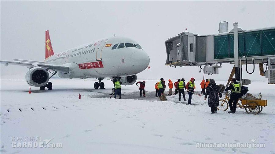 2018春运高峰 首都航空全力做好各项保障工作