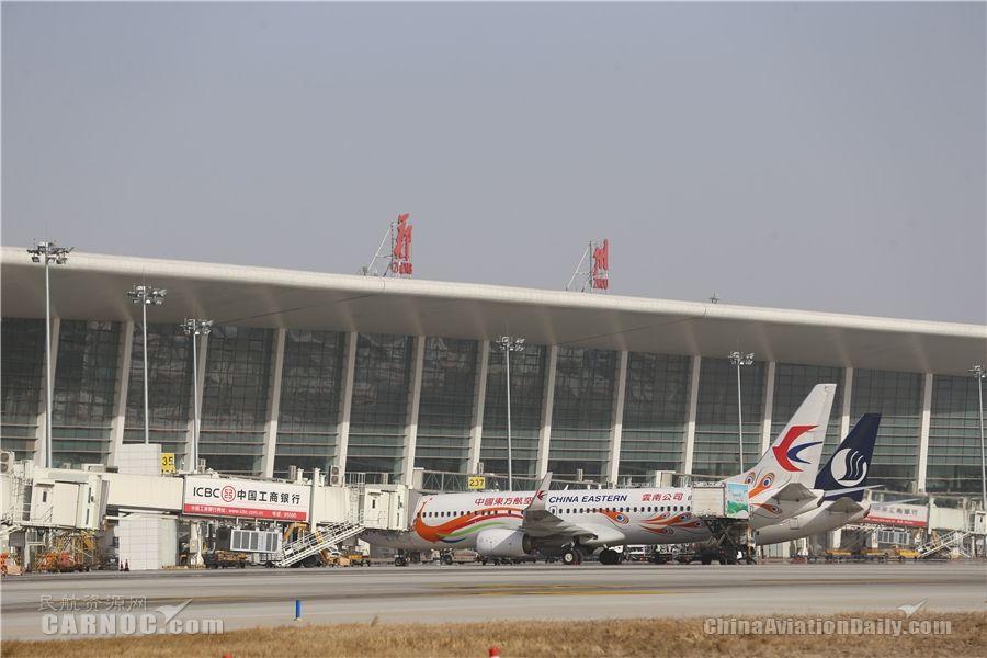 郑州机场春运前10日发送旅客80多万人次