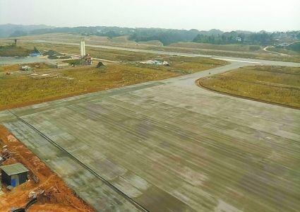 巴中恩阳机场10月试飞