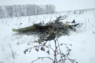 安-148飞机碎片。来源:英国《每日邮报》