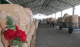 万件鲜花、年货、冷鲜产品空运南京市场