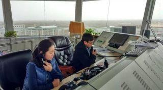 榆林机场顺利完成2018年首次校飞保障任务