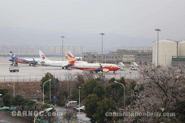 严寒中的长水人:长水机场保障航班正常纪实